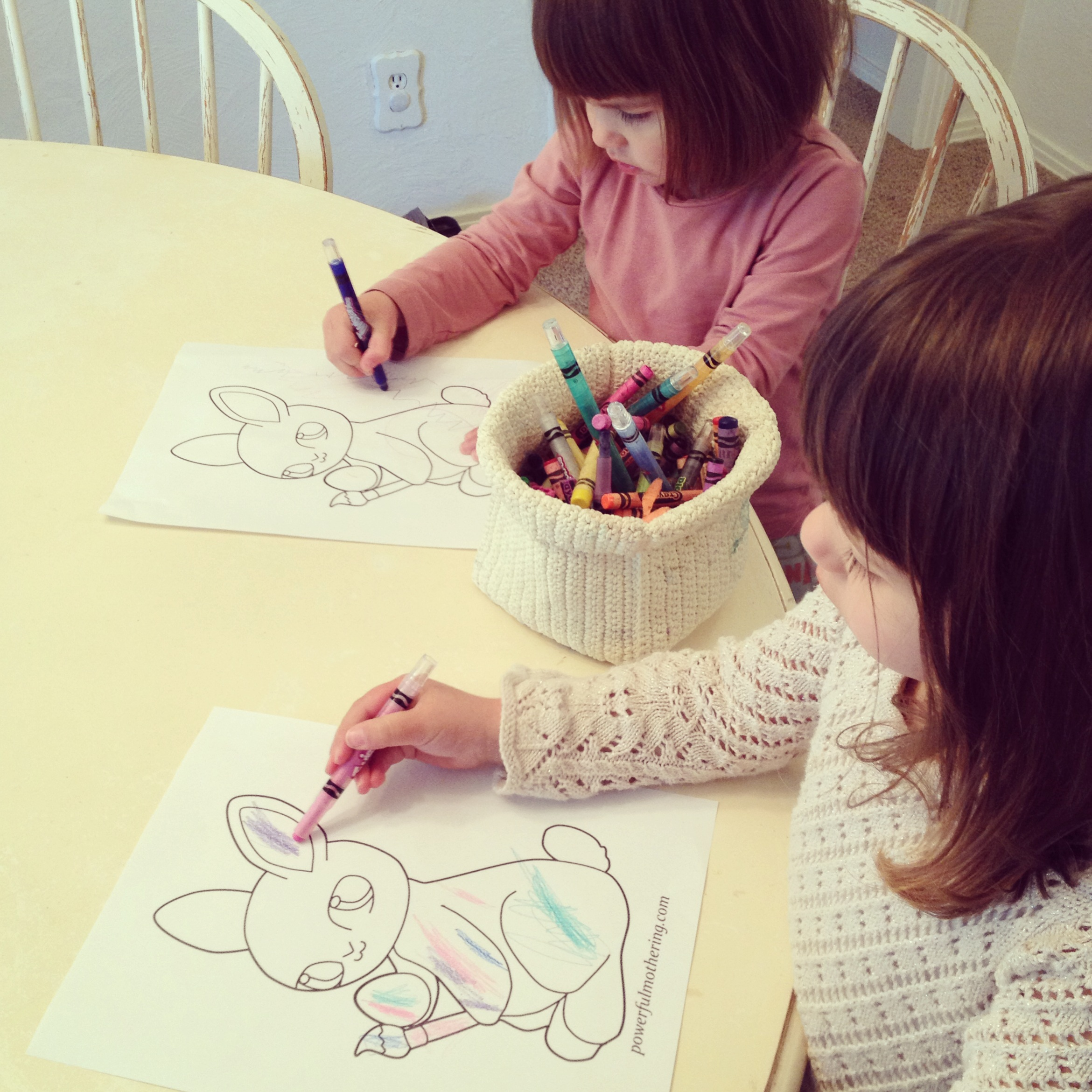 10 Free Printable Easter Egg And Bunny Coloring Pages