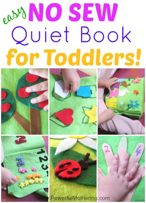 Sewing Quiet Book Pages