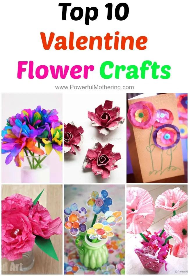 Top 10 Valentine Flower Crafts