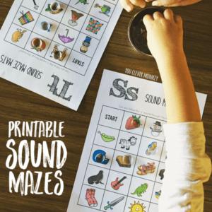 A. Printable Alphabet Sound Mazes you clever monkey (1)