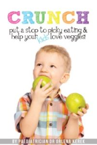Crunch! Put A Stop To Picky Eating and Help Your Kids Love Veggies