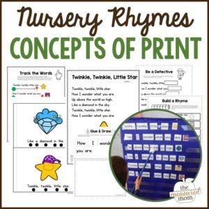 nursery rhyme concepts of print pack (1)