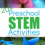 20 Preschool Stem Activities For Engaging And Encouraging Kids