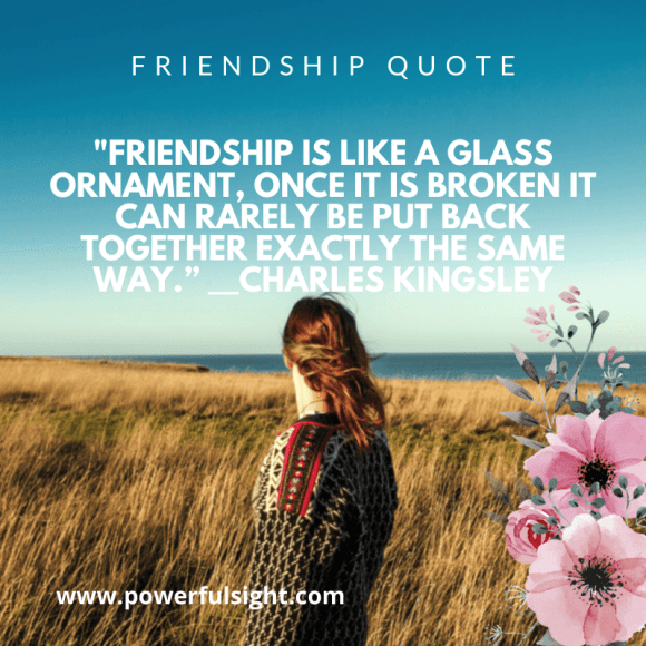 Cute friendship quote by Charles Kingsley