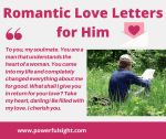 42 Sweet Love Letters for Him from the heart.