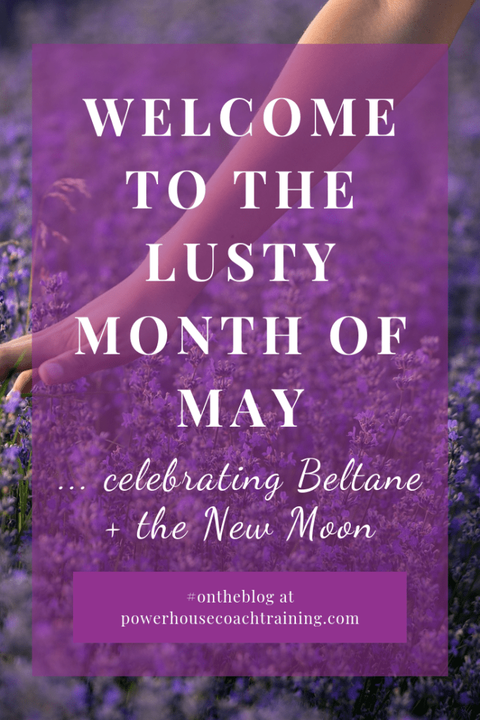 Welcome to the lusty month of May. It's time for Beltane and the turning of the Wheel.