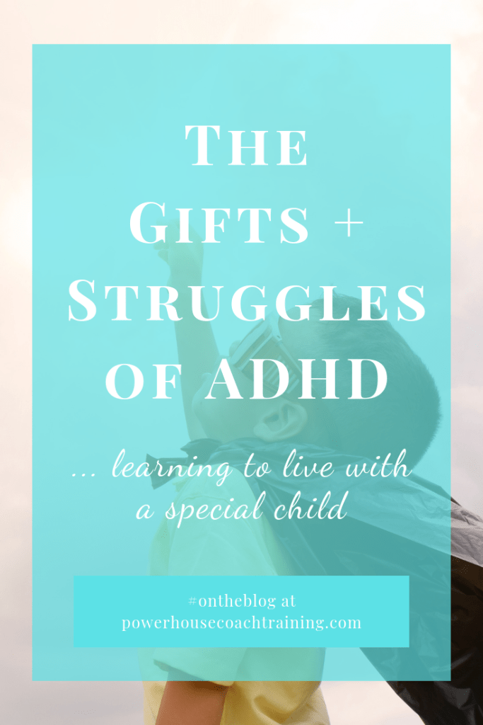 Learning to live with an ADHD child.