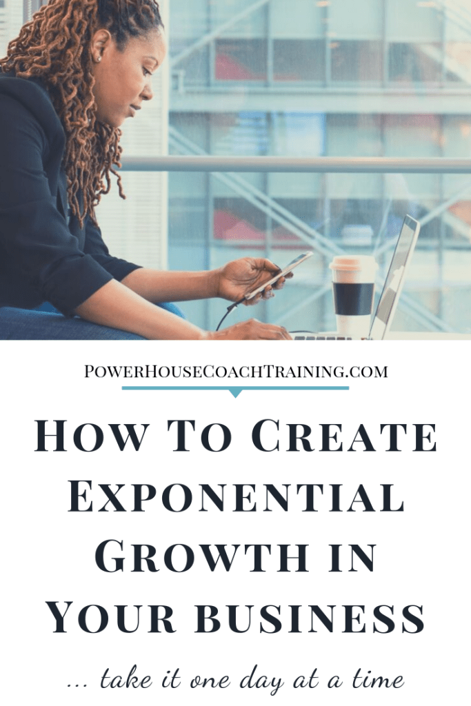 create exponential growth in your business