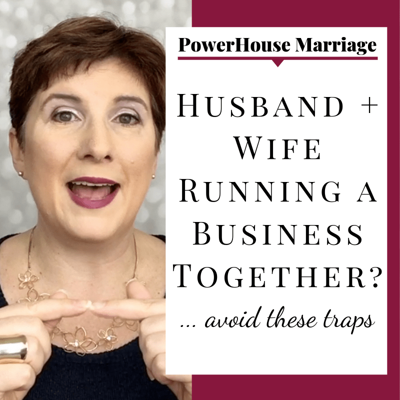 Vanessa Long presents 5 traps husbands and wives can fall into when they work together