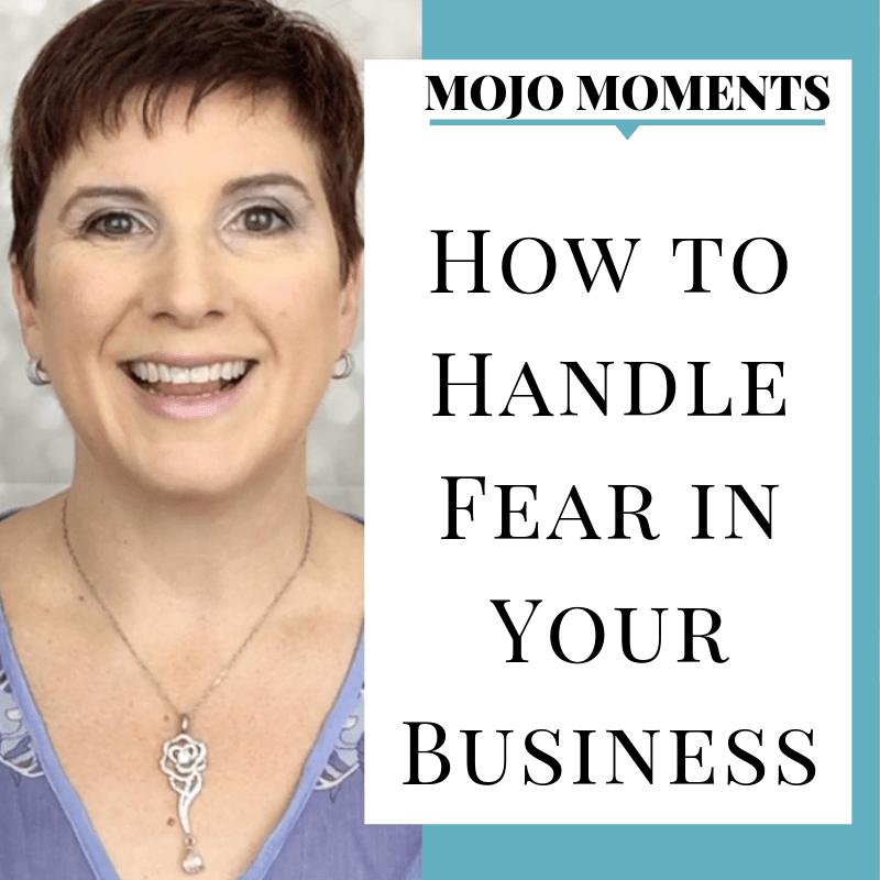 Vanessa Long shows us how to handle fear in your business in this week's Mojo Moment