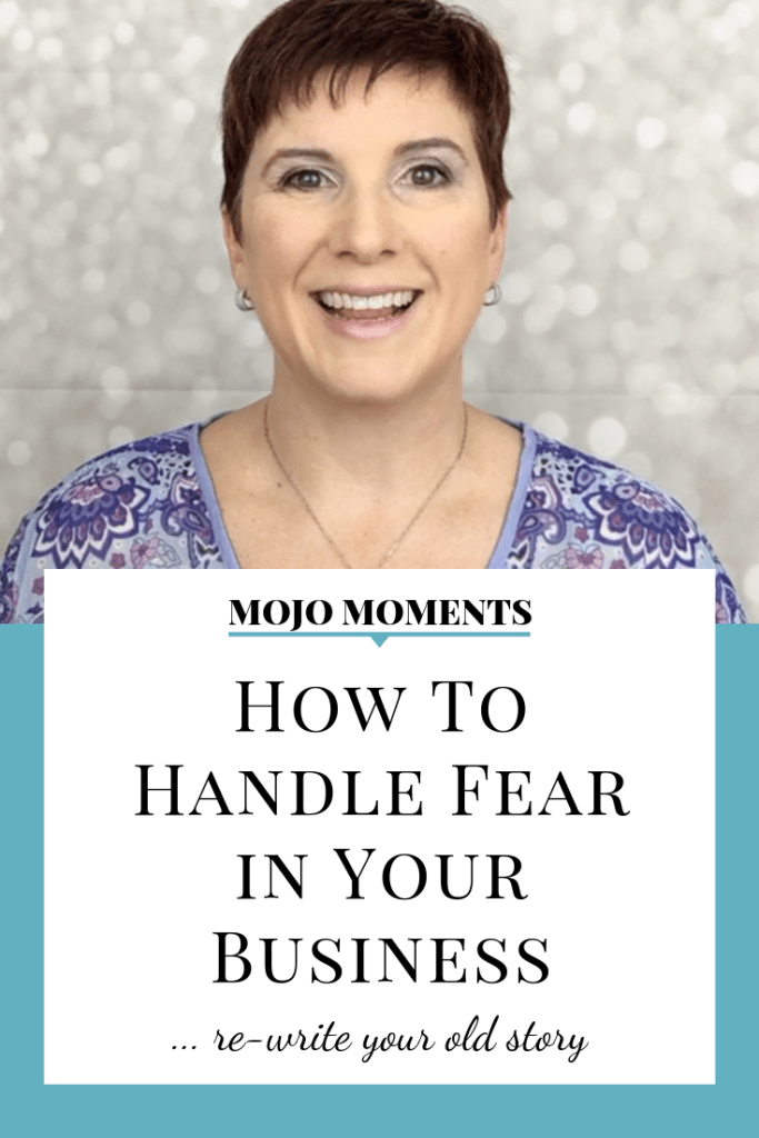 Vanessa Long shows us how to handle fear in our business