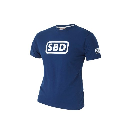 T-Shirt Powerlifting SBD Edizione Blu Estate 2019