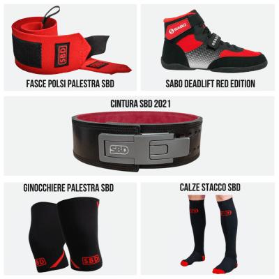 Deadlift Kit Pro RED