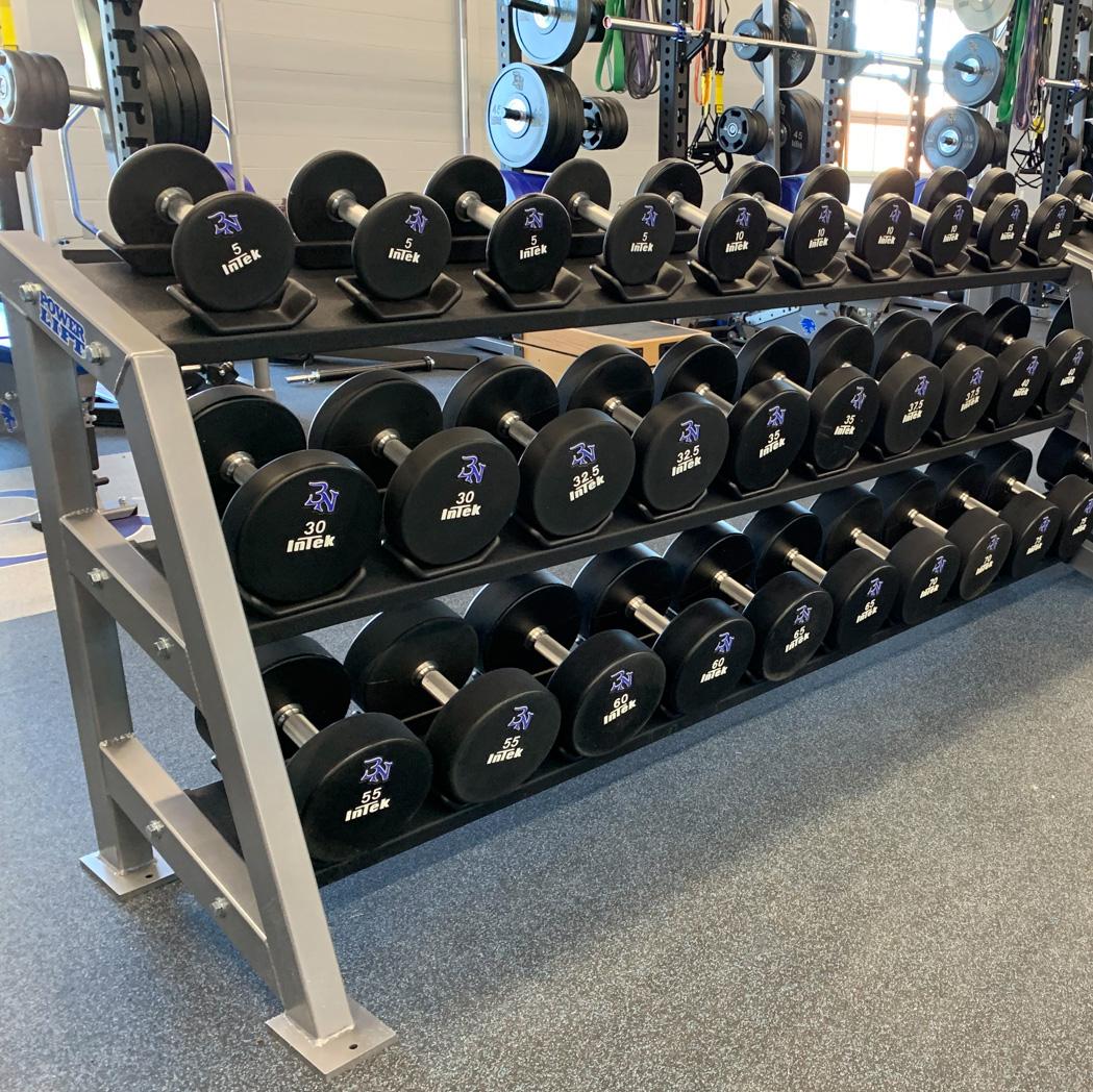 dumbbell rack power lift