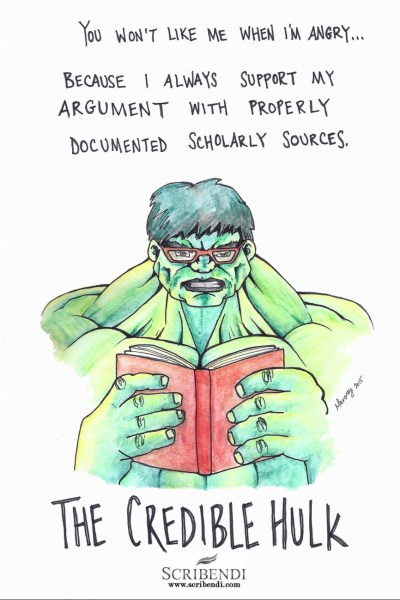 The Credible Hulk copy
