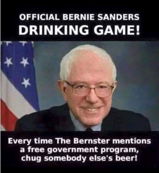 Sanders Drinking Game copy