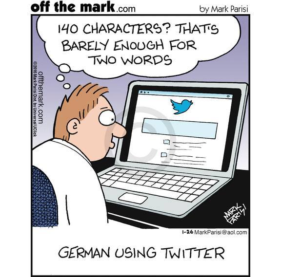 Germans Using Twitter