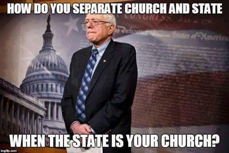 Sanders Church and State