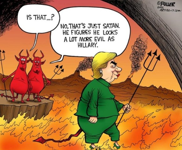 Hitlery In Hell