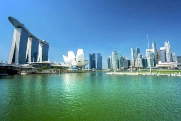 """The Daily News caption: """"Singapore would make a great getaway after Stupor Tuesday."""""""