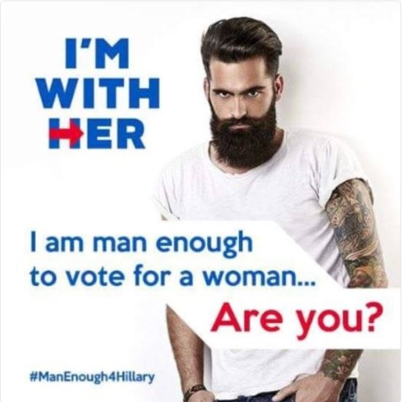 Man for Hillary copy