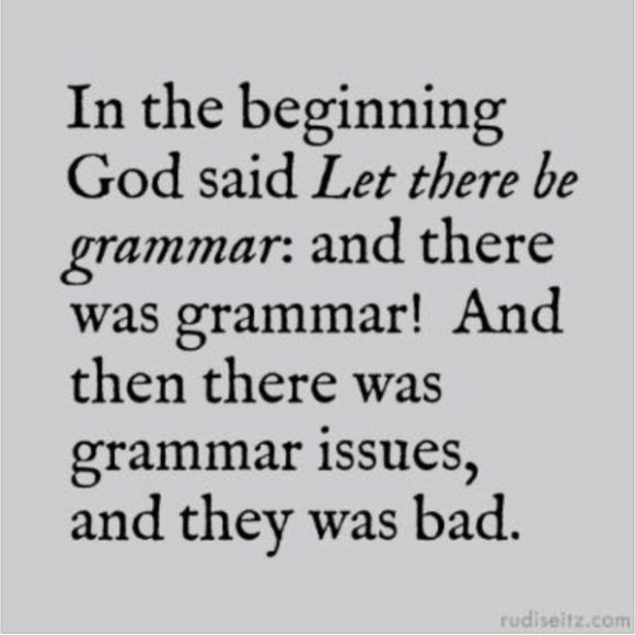 Grammer Issues copy