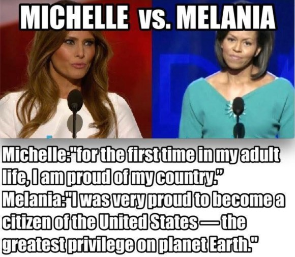 Melania vs Micheele copy