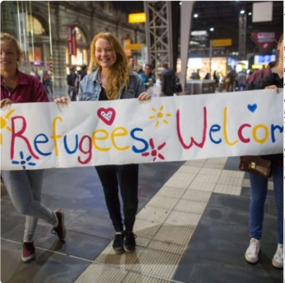 Refugees welcome copy
