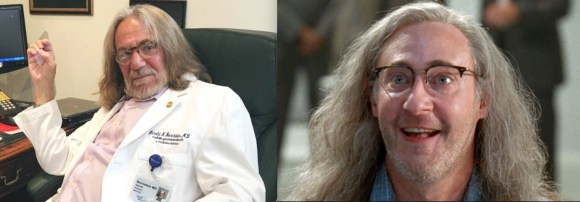 "Trump's doctor, or a crazed scientist from ""Independence Day?"""