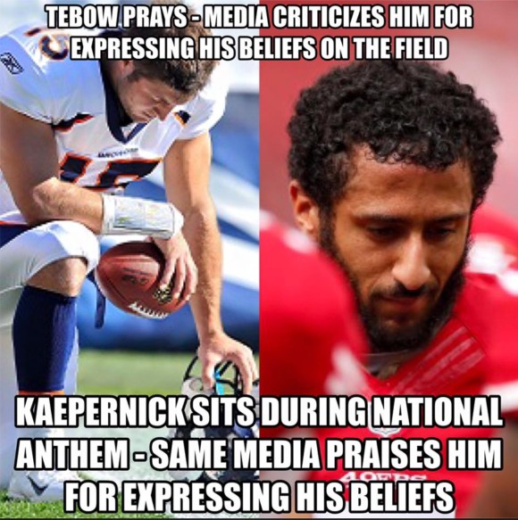 Tebow v Kaepernick copy
