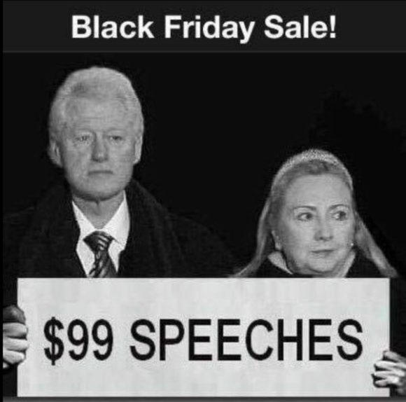 Clinton Black Friday