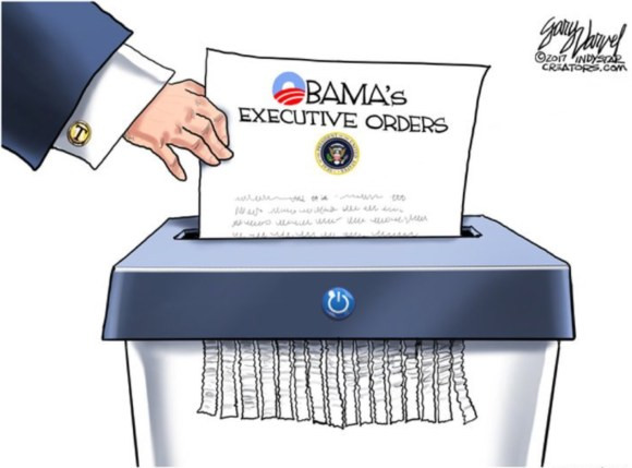 Shredding Obama