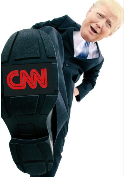 Trump Stomps CNN