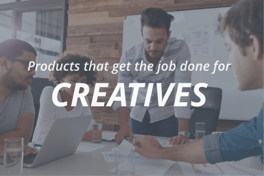 Products for creatives