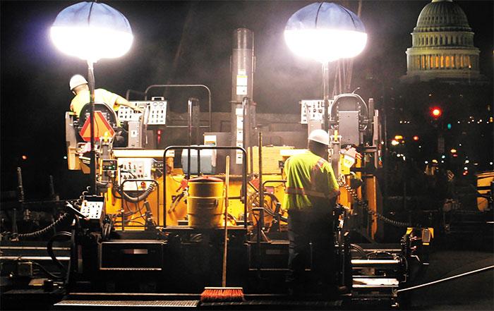 powermoon construction lights