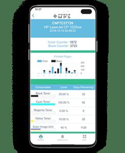 mobile app - PowerMPS