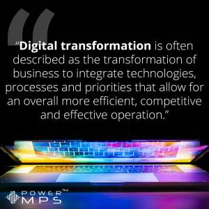 The Digital Transformation of MPS providers