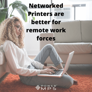 Should businesses use networked printers?