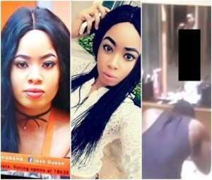 #BBNaija 2018: (18+ Video) Big Brother accidentally shows shower time while Nina was naked bathing