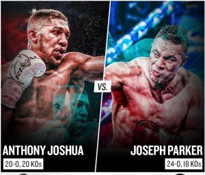 LIVE STREAM: Watch Anthony Joshua VS Joseph Parker Fight Online