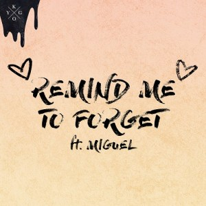 DOWNLOAD MP3: Kygo & Miguel – Remind Me to Forget (CDQ)