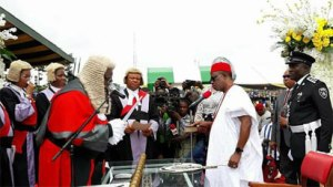 See What Obiano Promised People Of Anambra As He Was Sworn in As Governor For Second Tenure