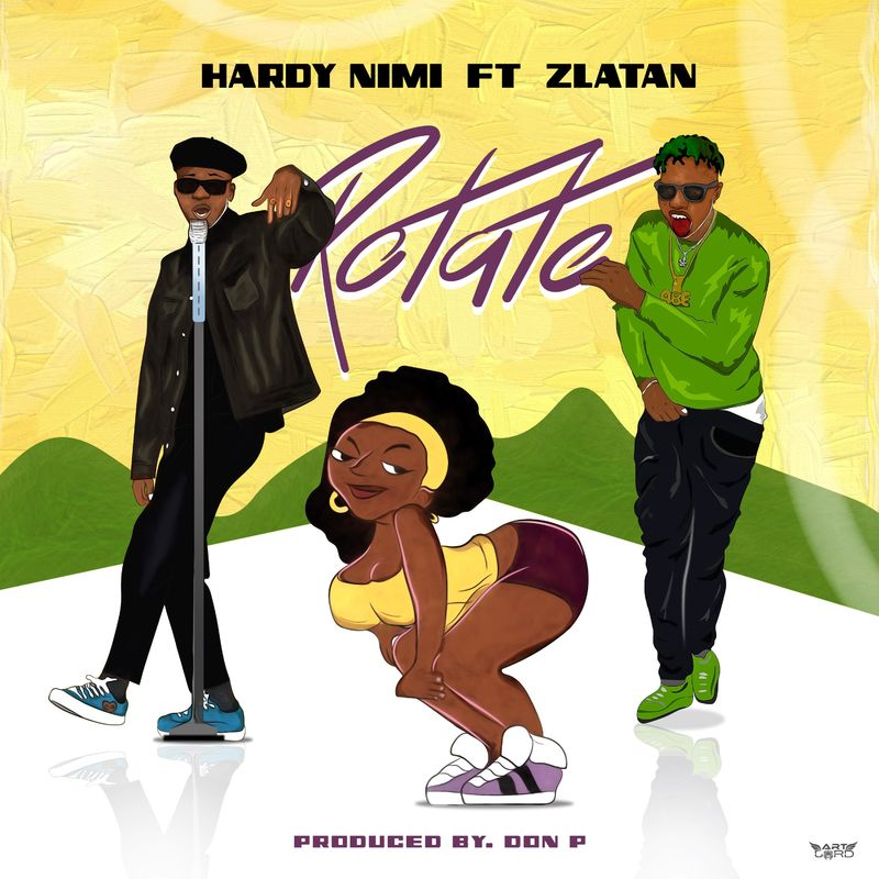 Hardy Nimi ft. Zlatan - Rotate