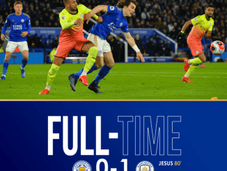Leicester vs Manchester City 0-1 Download