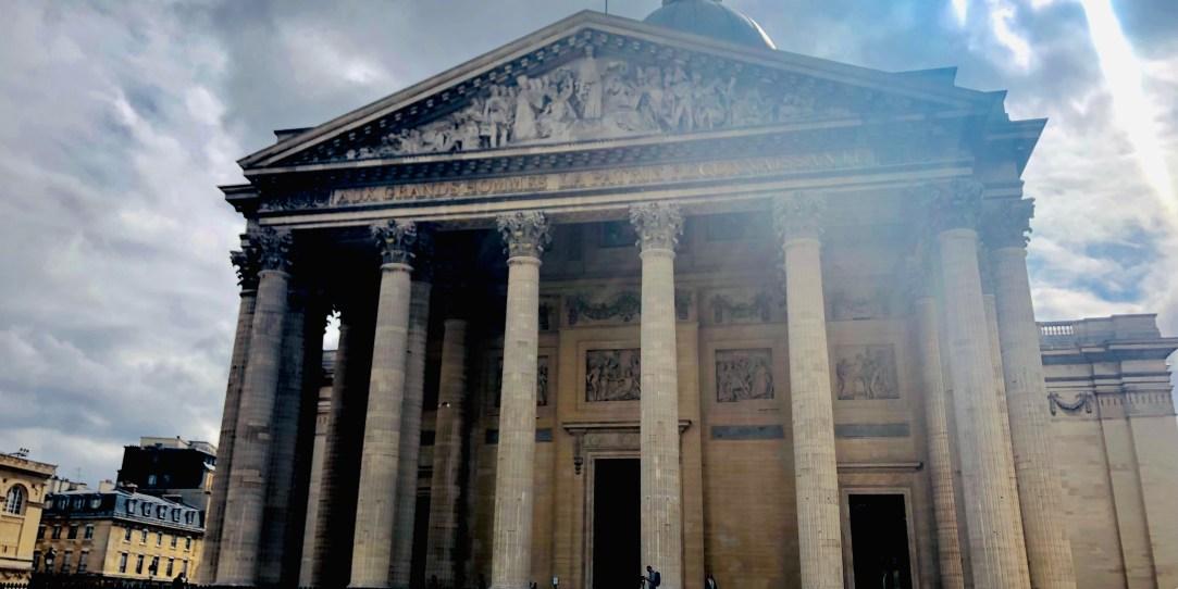 Pantheon von vorne