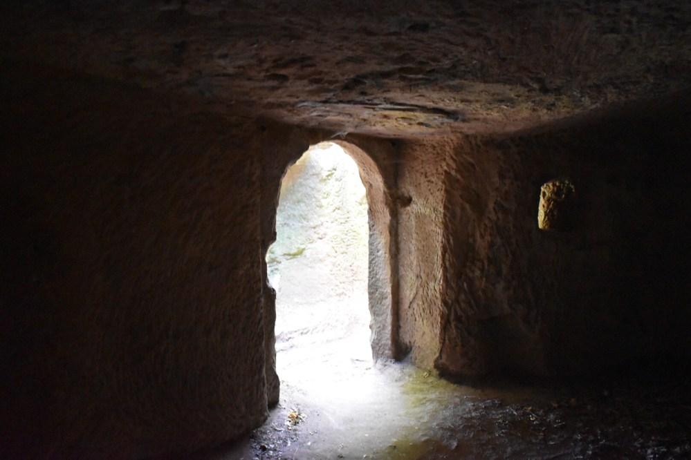 Durchgang eines Raumes in der Burg