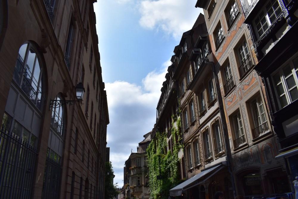 Häuser der Rue du Maroquin