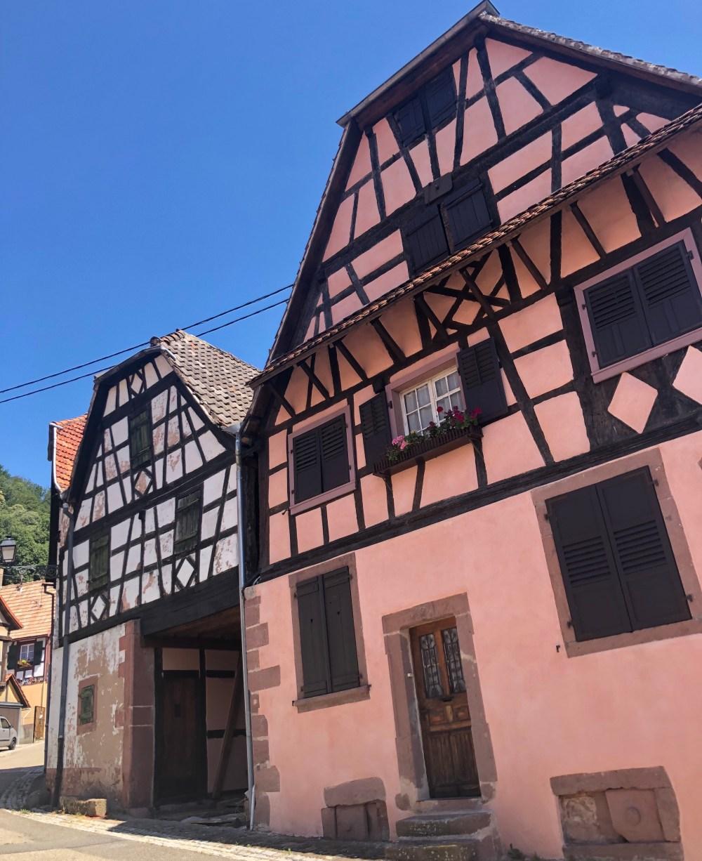 Fachwerkhäuser in Oberbronn