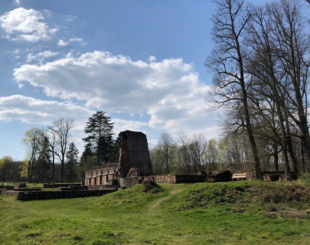 Klosterruine von hinten