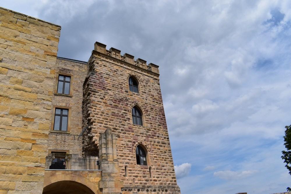 Fassade des Schlosses
